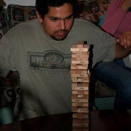 Our night of Jenga