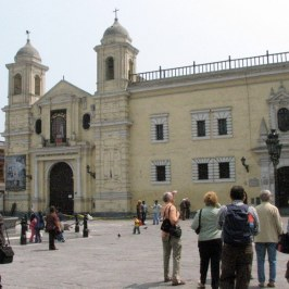 Plaza Bolivar is surrounded by old Spanish structures. Some date back to the 1500s. We visited the Inquisition Museum.