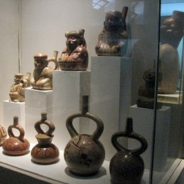 The Larco Herrera Museum contains an extraordinary collection of pre-Columbian art.
