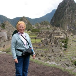 This proves that Marie really visited Machu Picchu.