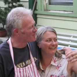 Deborah and Lance were delightful hosts.