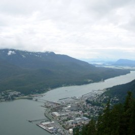Juneau from tram