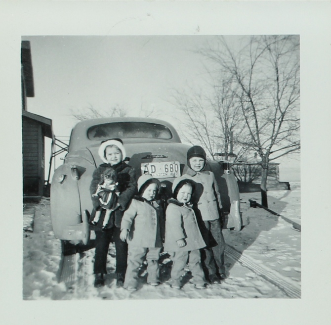 DeVore kids 1947