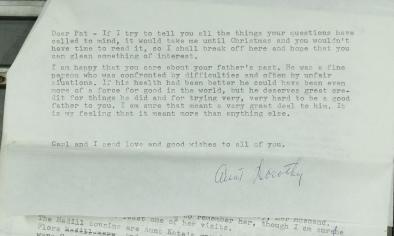 Dorothy letter 5