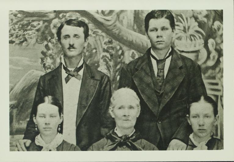Emery w family 1874