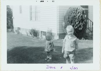Janice and David '62