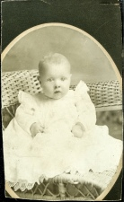 Mabel Roning as baby