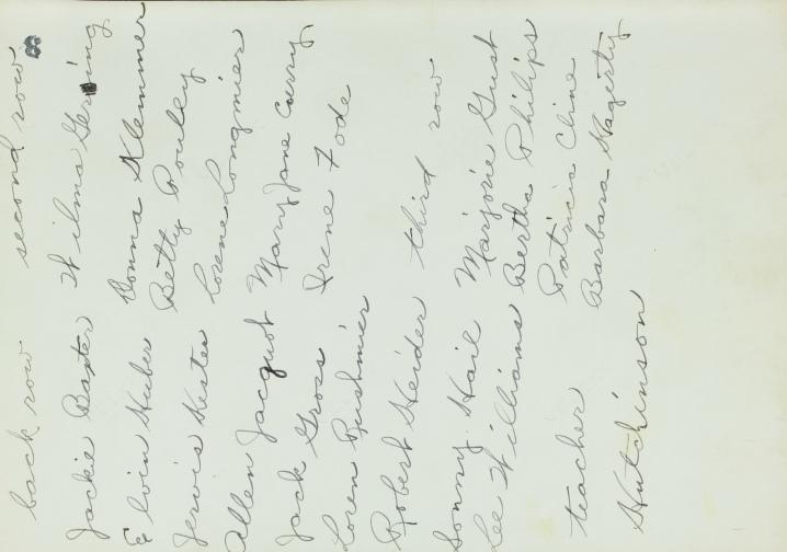 Pat Grade 3 list '42