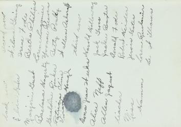 Pat Grade 4 list '43