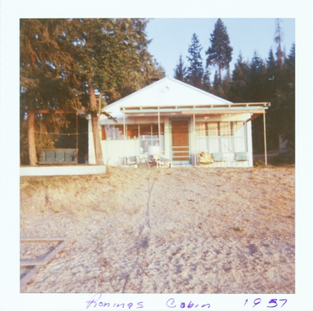 Roning cabin 1957