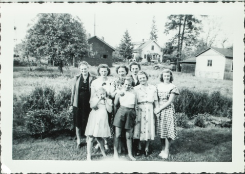 Roning Cline women '49