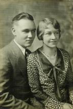 Russsel Mabel Wedding '31